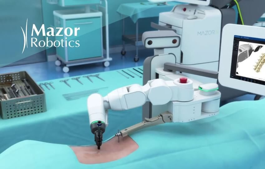 Medtronic Acquires Mazor Robotics for $1.64B or $1.34B to Transform Spinal Technologies and Improve Outcomes