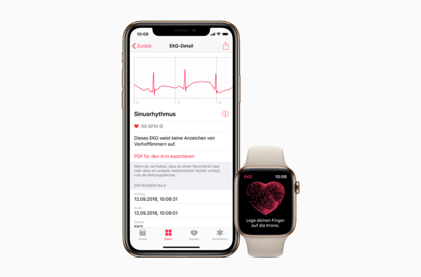 Apple Launches its Watch Series 4 Enabled with ECG App and Irregular Rhythm Notification in Europe and Hong Kong