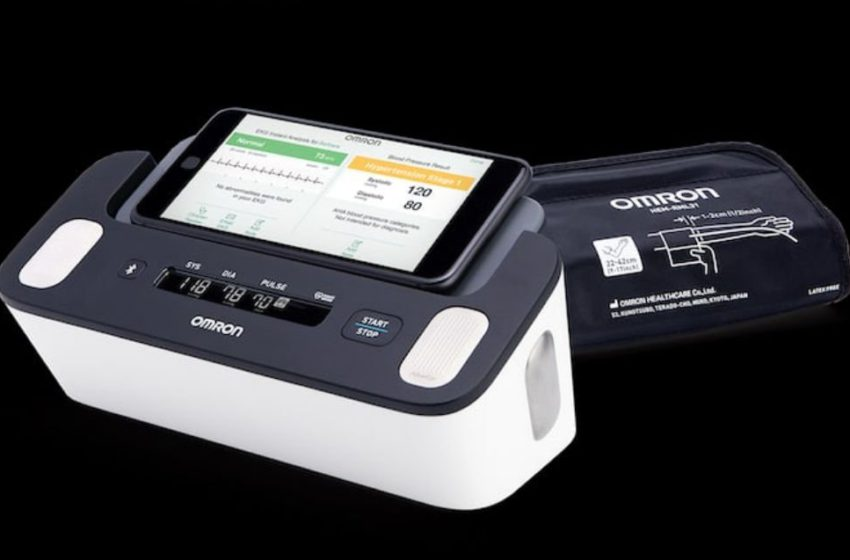 Omron Healthcare Receives FDA's Approval for Complete a Blood Pressure Monitoring Device with ECG Facility