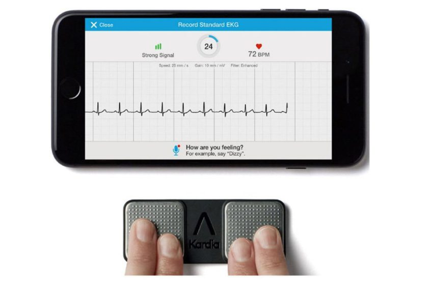 AliveCor's KardiaMobile 6L Receives FDA's Clearance as Six-Lead Personal ECG Device