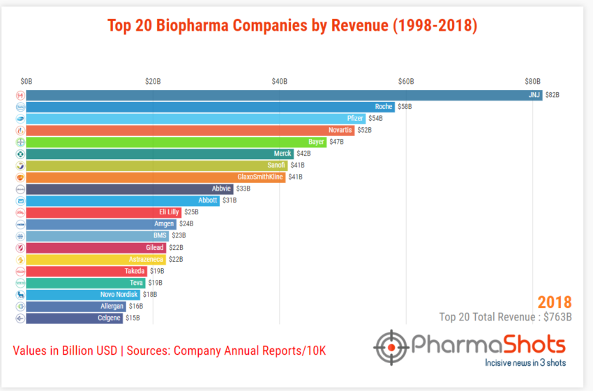 Insights+: An Analysis of Biopharma Companies Growth in Last 20 Years (1999-2018)