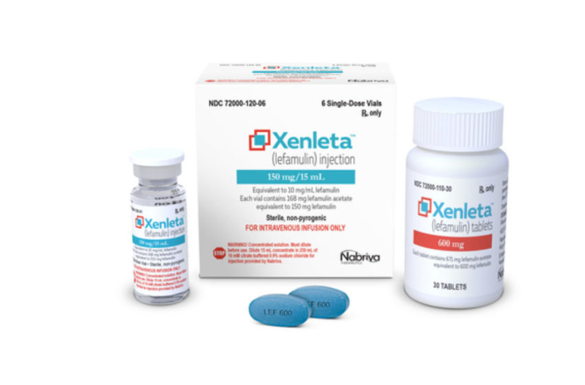 Nabriva's Xenleta (lefamulin) Receives FDA's Approval for the Treatment of Community-Acquired Bacterial Pneumonia in Adults