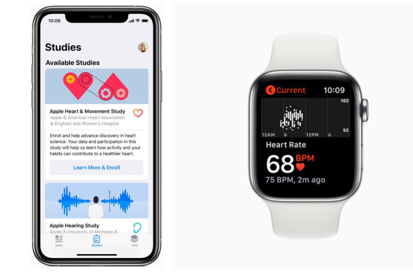 Apple to Launch a Research App for Three Medical Studies Monitoring Health Issues