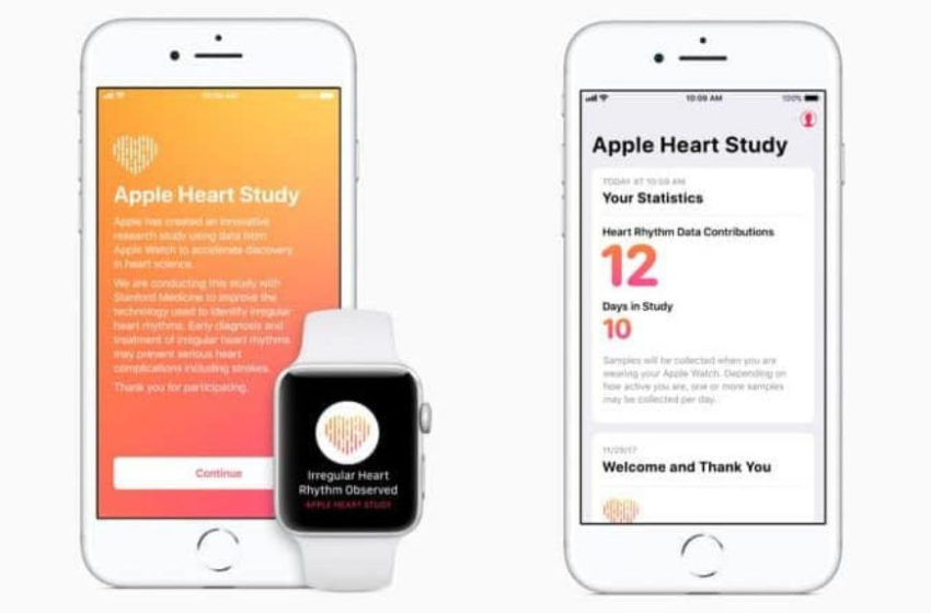 Stanford Medicine Reports Results of Apple Heart Study for Detecting Atrial Fibrillation