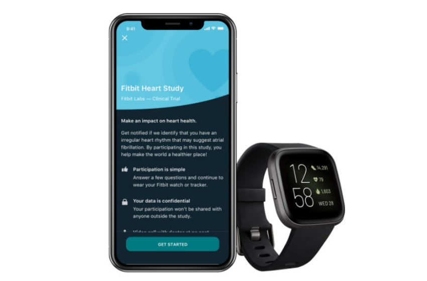 Fitbit Launches Heart Study to Validate its Wearable Technology for Identifying Atrial Fibrillation