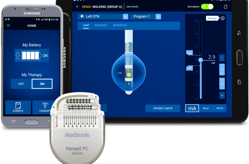 Medtronic Receives the US FDA's Approval for its Percept PC Neurostimulator with BrainSense Technology