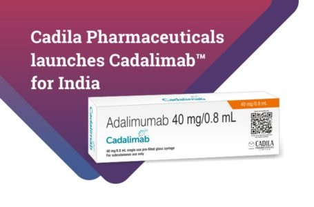 Cadila Launches Cadalimab (biosimilar, adalimumab) in India