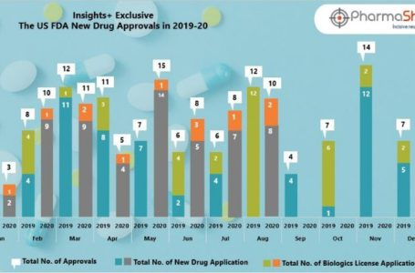 Insights+: The US FDA New Drug Approvals in August 2020