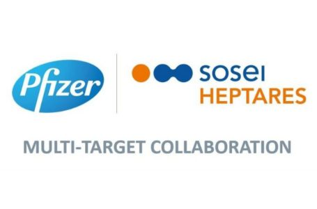 Pfizer Initiates Clinical Study of Eighth Candidate Emerges Under the Collaboration with Sosei Heptares