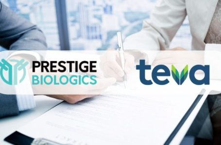 Prestige Signs an Exclusive Agreement with Teva to Commercialize Tuznue (biosimilar, trastuzumab) in Israel
