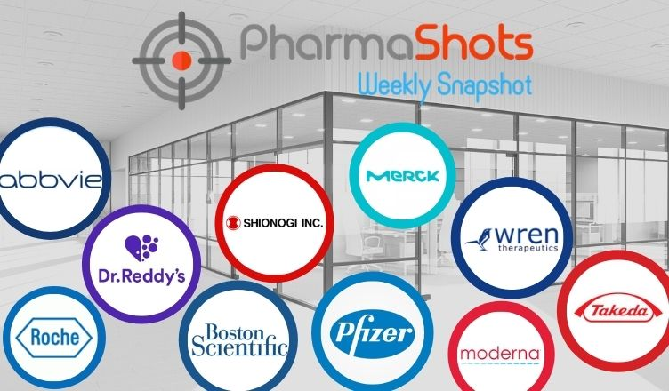 PharmaShots Weekly Snapshot (Nov 30 – Dec 04, 2020)