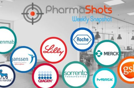 PharmaShots Weekly Snapshots (Jan 18 – 22, 2021)