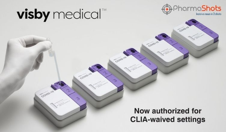 Visby's POC COVID-19 Test Receives the US FDA's EUA for Use in CLIA Waived Settings