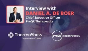 ViewPoints Interview: ProQR's Daniel A. de Boer Shares Insight on Sepofarsen, the First Treatment for Leber Congenital Amaurosis 10 (LCA10)