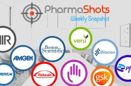 PharmaShots Weekly Snapshots (Mar 01 – 05, 2021)