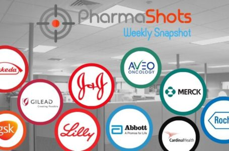 PharmaShots Weekly Snapshots (Mar 15 – 19, 2021)