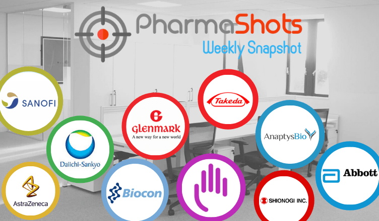 PharmaShots Weekly Snapshots (Apr 26 – 30, 2021)