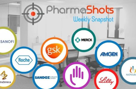PharmaShots Weekly Snapshots (May 03 – 07, 2021)