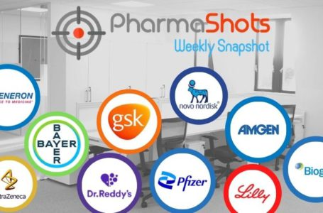 PharmaShots Weekly Snapshots (May 10 – 14, 2021)