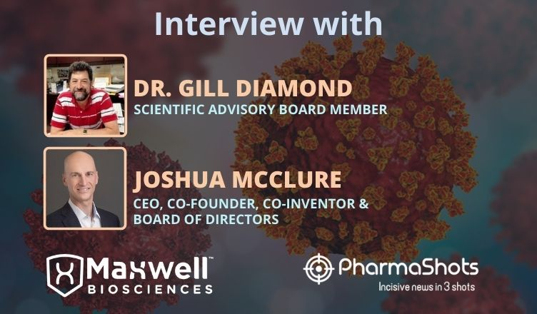ViewPoints Interview: Maxwell Biosciences' Dr. Gill Diamond and Joshua McClure Share Insights Novel Peptoids with Potent Antiviral Activity Against HSV-1 and SARS-CoV-2