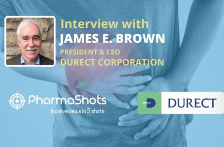 PharmaShots Interview: Durect's James E. Brown Shares Insight on the Data of DUR-928 Presented at EASL 2021