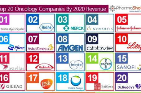 Top 20 Oncology Companies Based on 2020 Oncology Segment Revenue