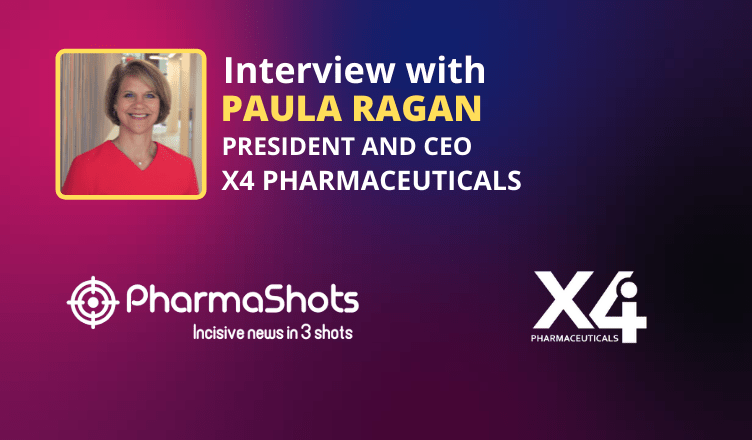 Pharmashots Interview: X4 Pharmaceuticals' Paula Ragan Shares Insights on the Data of Mavorixafor in Combination with Ibrutinib Presented at 2021 EHA Annual Congress